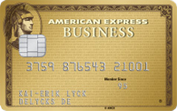 American Express Business Card Gold