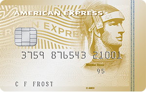 The American Express Gold Credit Card