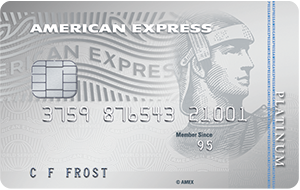 The American Express Platinum Rewards Credit Card