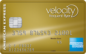 The American Express Velocity Gold Card