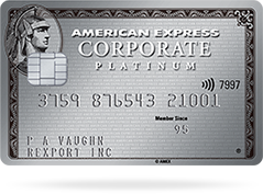 card platinum corporate