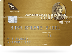 card qantas gold corporate