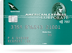 card qantas green corporate