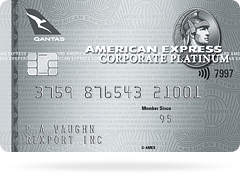 card qantas platinum corporate