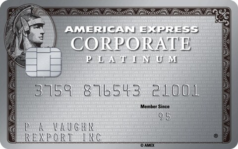The American Express Corporate Platinum Card