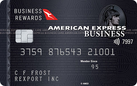 The American Express Qantas Business Rewards Card