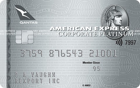 The American Express Qantas Corporate Platinum Card