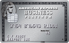 The American Express© Platinum Business Card