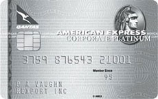 The Qantas American Express® Corporate Platinum Card
