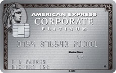 The American Express© Platinum Corporate Card