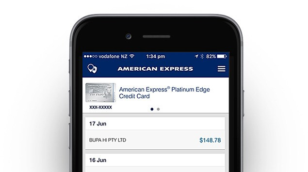 Mobile Amex