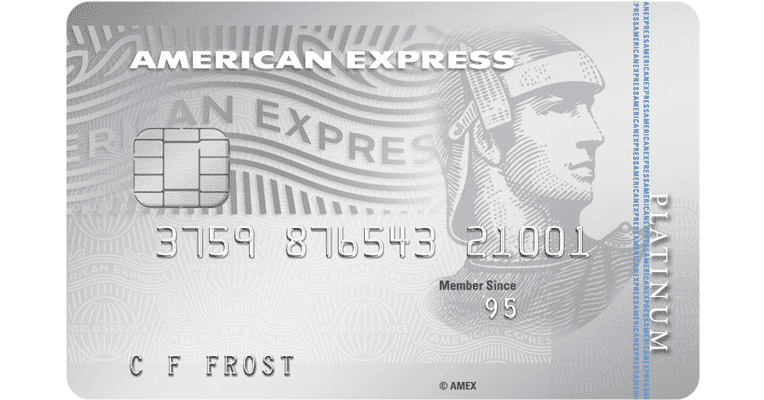 The American Express Platinum Moneyback Credit Card