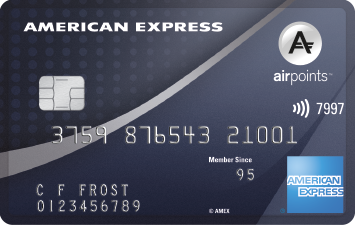 The American Express Airpoints Platinum Card