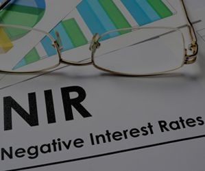 Currency exchange rates and risk management strategies can be influenced by negative interest rates.