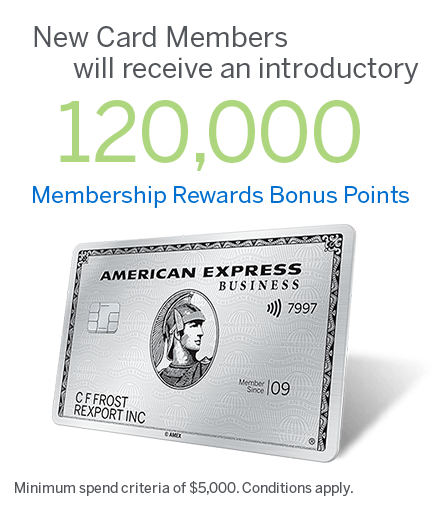 The American Express® Platinum Business Card