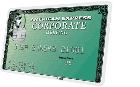 American Express® Corporate Meeting Card