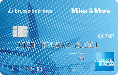 Brussles Airlines Preferred American Express Kaart
