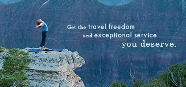 Get the travel freedom and exceptional service you deserve.