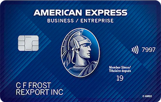 Business EdgeTM Card from American Express