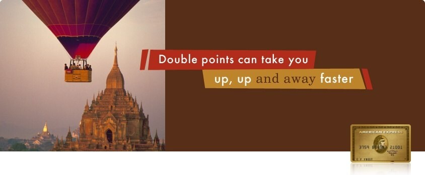 Image stating that double points can take you up, up and away faster