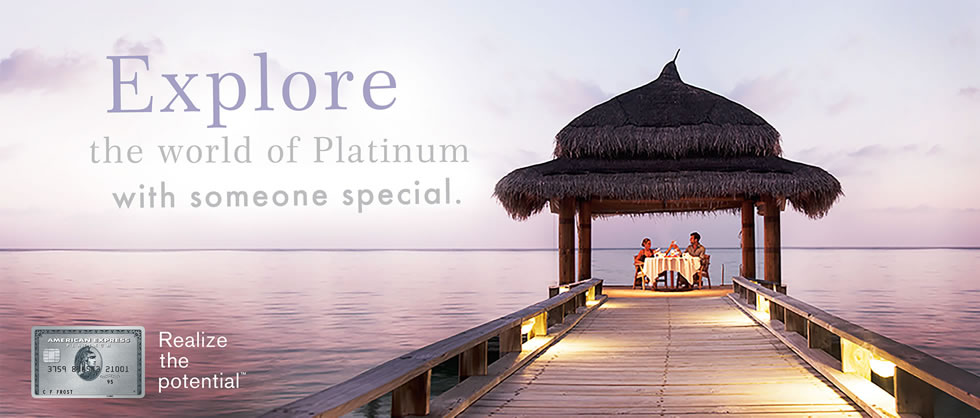 Explore the world of Platinum with someone special.