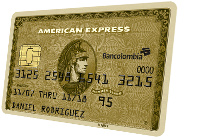 Gold Charge card