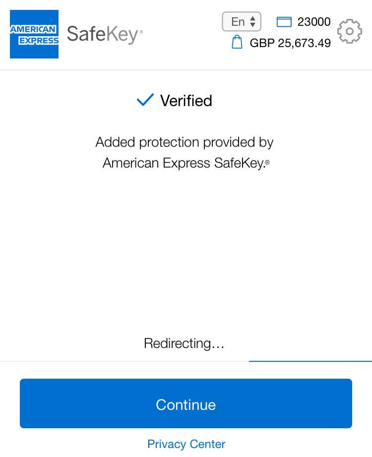 SafeKey | Amex Security Code Feature | American Express UK