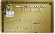 Tarjeta American Express Bussines Gold