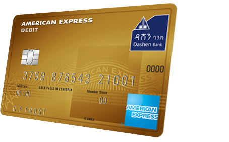 Dashen American Express Gold Debit