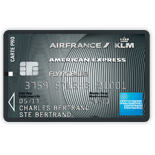 Carte PRO AIR FRANCE KLM AMERICAN EXPRESS PLATINUM