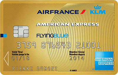 Carte Gold Air France