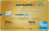 Carte AIR FRANCE KLM AMERICAN EXPRESS GOLD