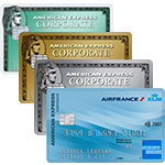 Cartes Corporate American Express et Corporate AIR FRANCE - AMERICAN EXPRESS
