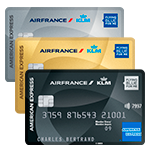 Cartes AIR FRANCE KLM - AMERICAN EXPRESS