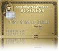 The Gold Business Card