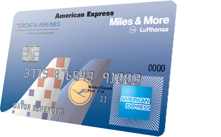 Croatia Airlines Amex Gold kartica