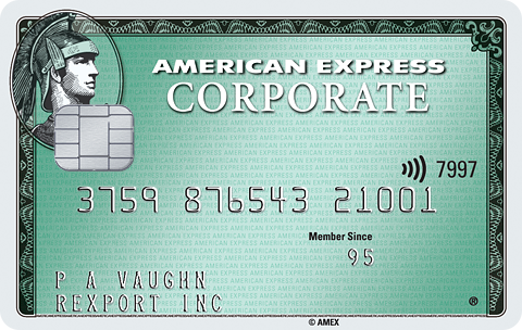 American Express® Green Corporate Card