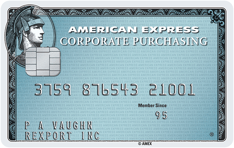 American Express® Corporate Purchasing Card