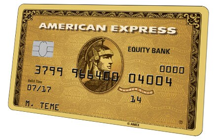 The Equity Bank American Express® Gold Card
