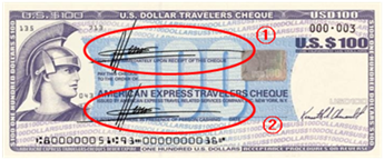 Travelers Cheque