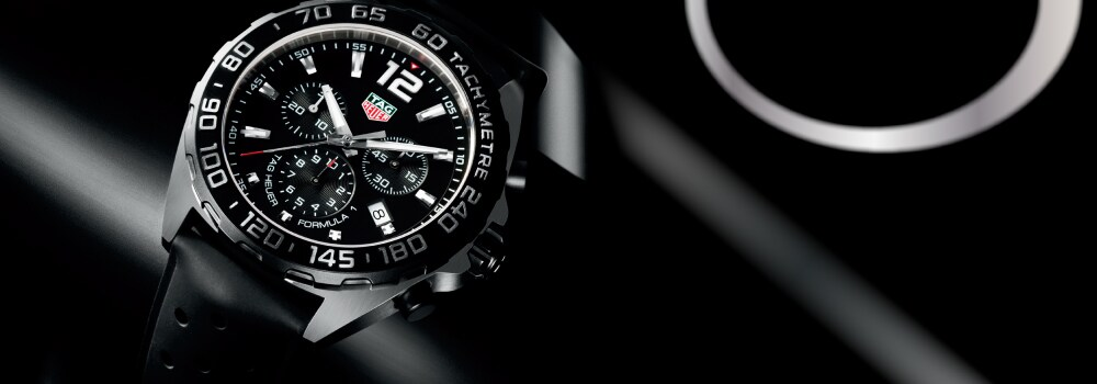Win one of the three Tag Heuer Formula 1 chronograph every month