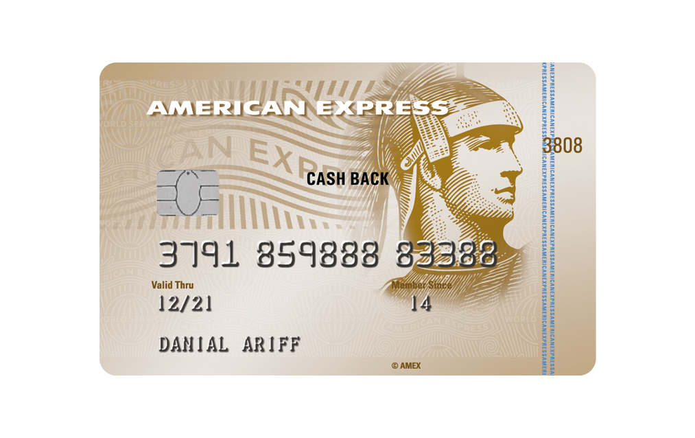 The American Express® Cash Back Gold Credit Card