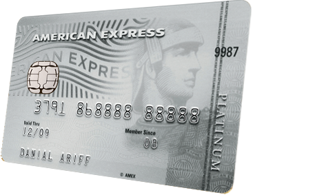 American Express Platinum Credit Card Detail