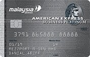 The Malaysia Airlines American Express® Platinum Business Card