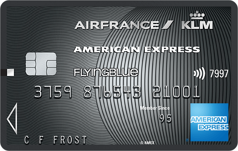 Flying Blue - American Express Platinum Card