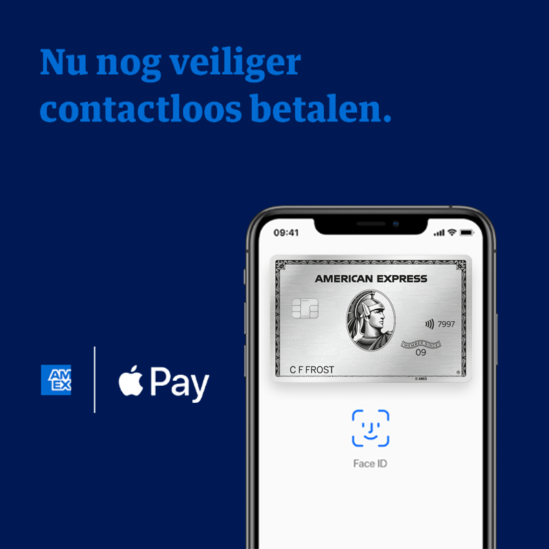 American Express met Apple Pay