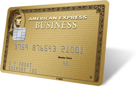 Business Gold Card hero image