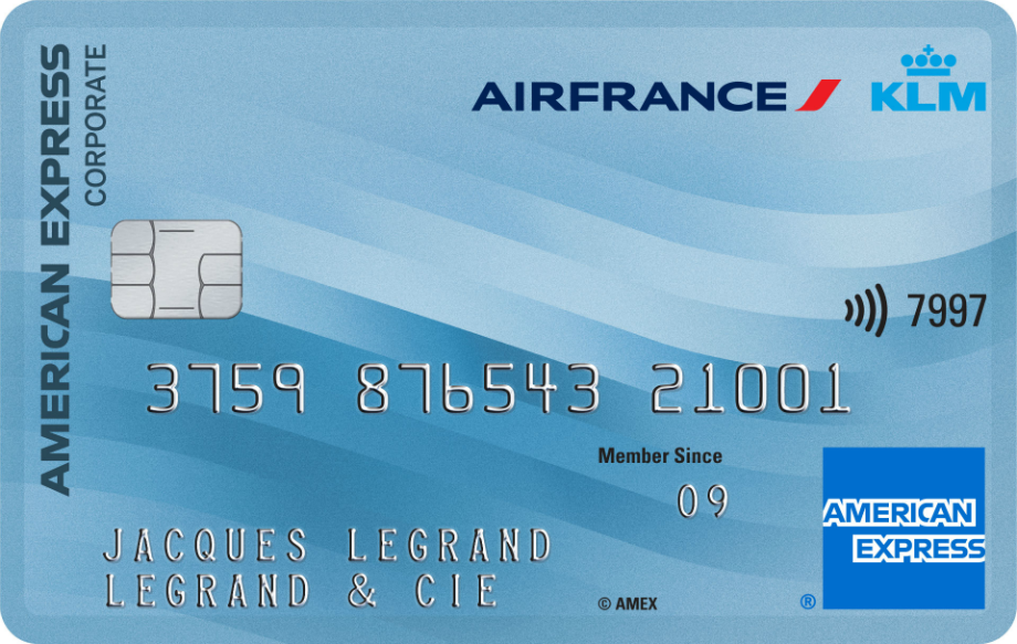 Corporate KLM card image