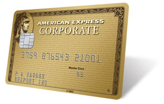 Corporate Gold Card hero image