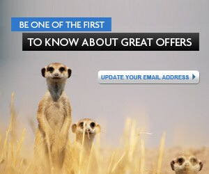 Sign up to receive special offers by email